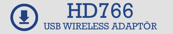 HD778 wriless adaptör